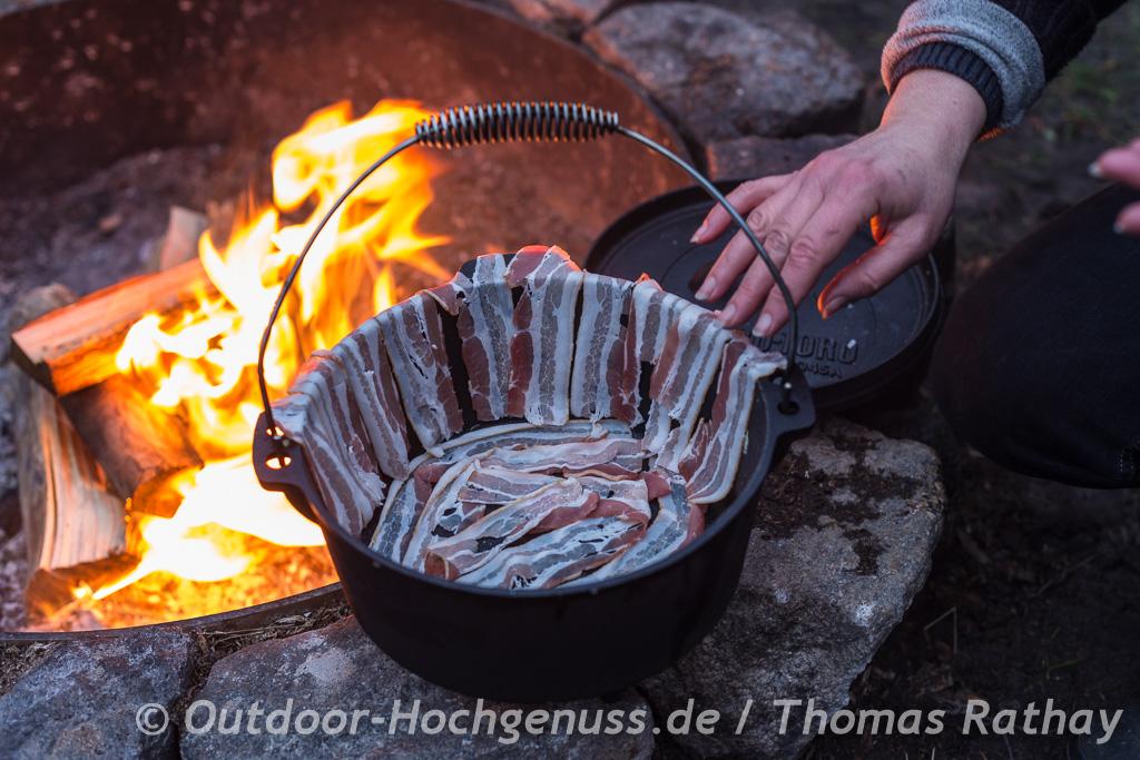 Sauerkrautauflauf im Dopf - Dutch Oven