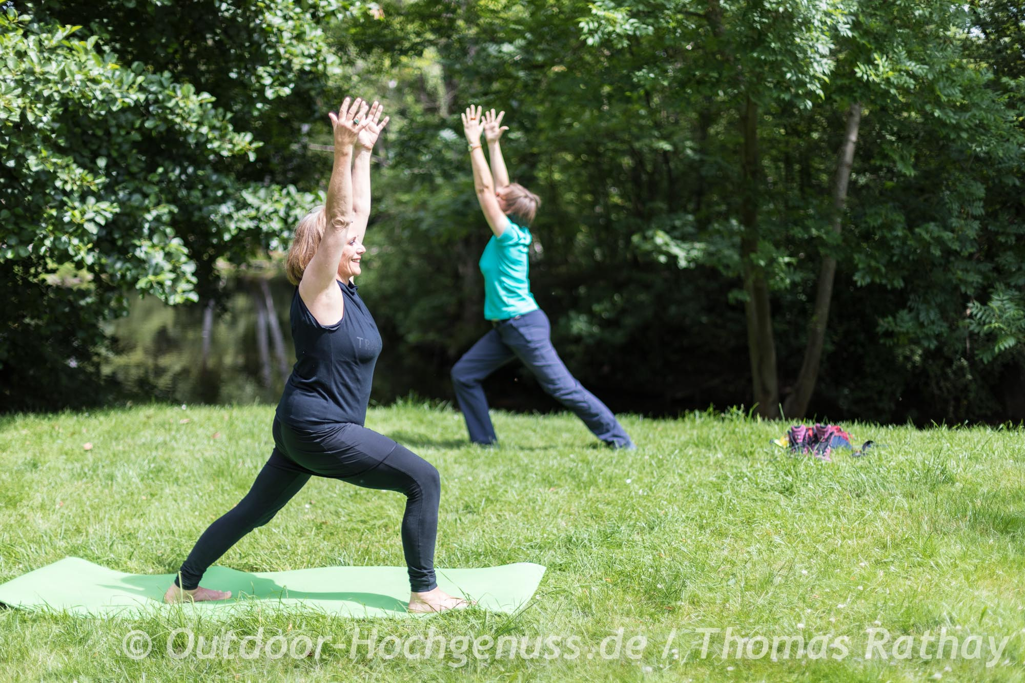 Yoga und Wandern als wunderbare Kombination