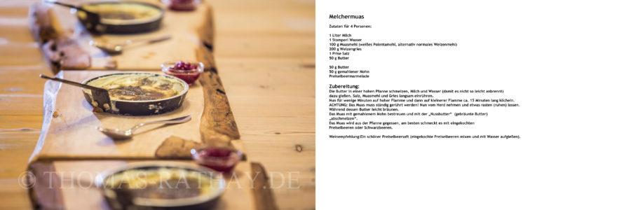 Leckeres traditionelles Gericht aus der Südtiroler Küche.