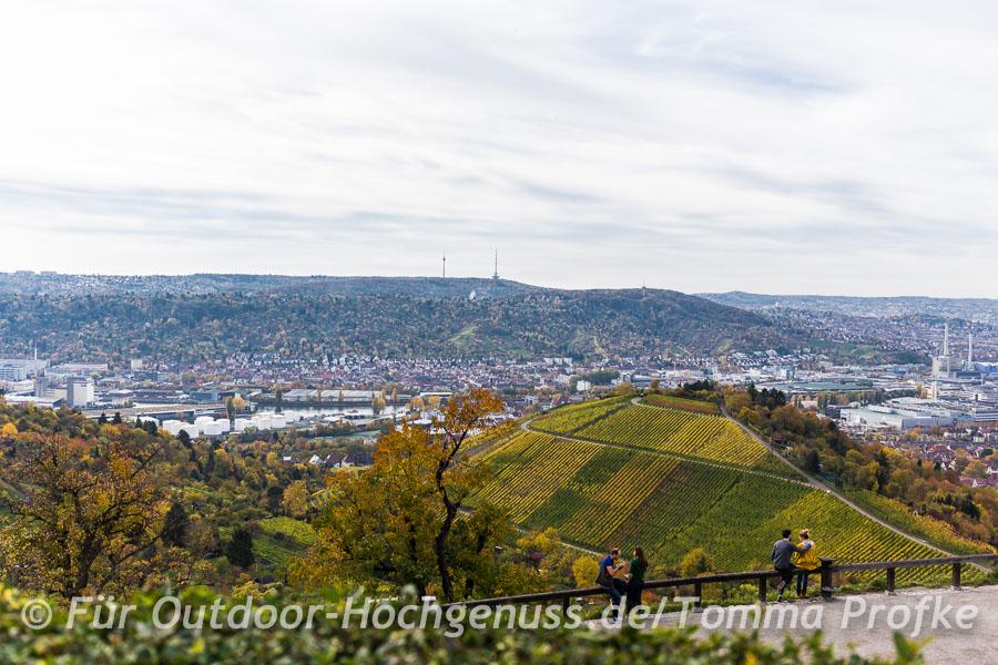 Sonnige Wanderung durch die Stuttgarter Weinberge