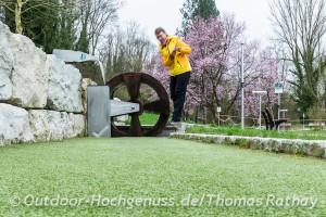 Abenteuer Minigolf im Kurpark
