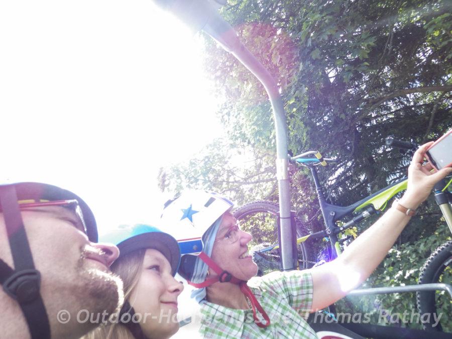 Selfie als Erinnerung
