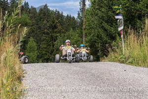 Funsport Mountainkart im *Bikepark Brandnertal*