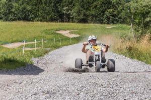 Funsport Mountaincart im *Bikepark Brandnertal*