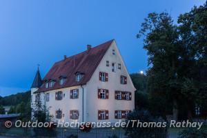 Schloss in Zwiefaltendorf.