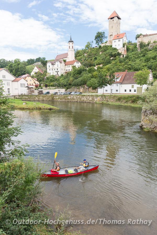 Genussvolle Paddeltour im Kanadier auf der Donau
