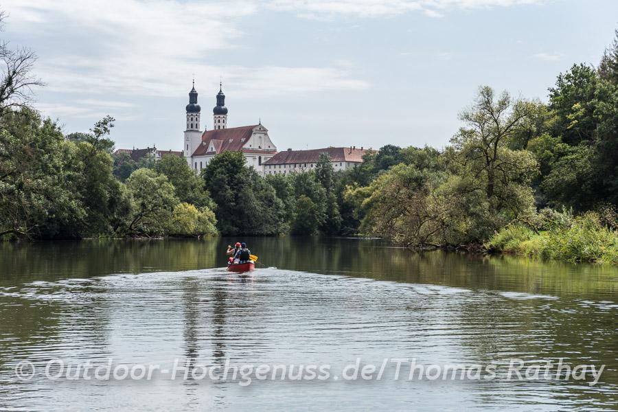 Kanutour auf der Donau