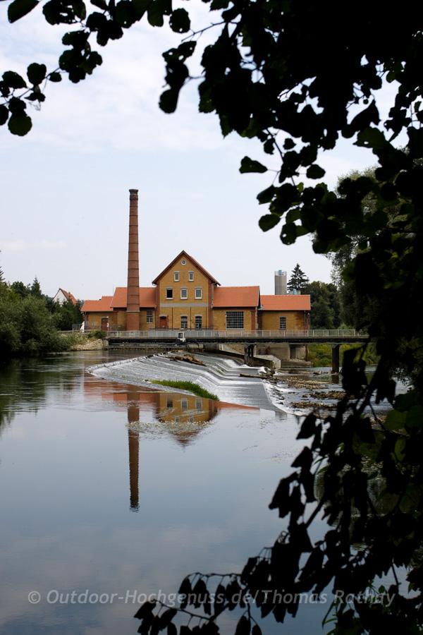 Paddeln auf der schwaebischen Donau