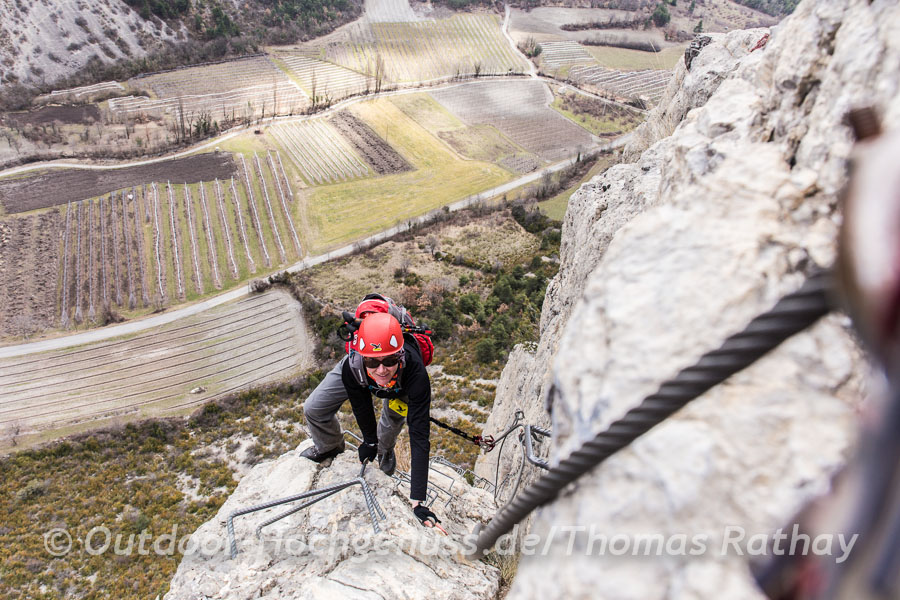 Klettersteig *La Grande Fistoire*