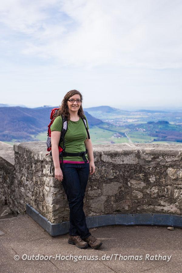 Katja Hannig wandert gern auf der Schwäbischen Alb