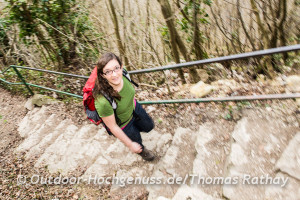 Jung, dynamisch, konsequent leitet Katja die Geschicke der Albvereinsjugend