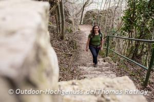 Katja Hannig von der Schwäbischen Albvereinsjugend