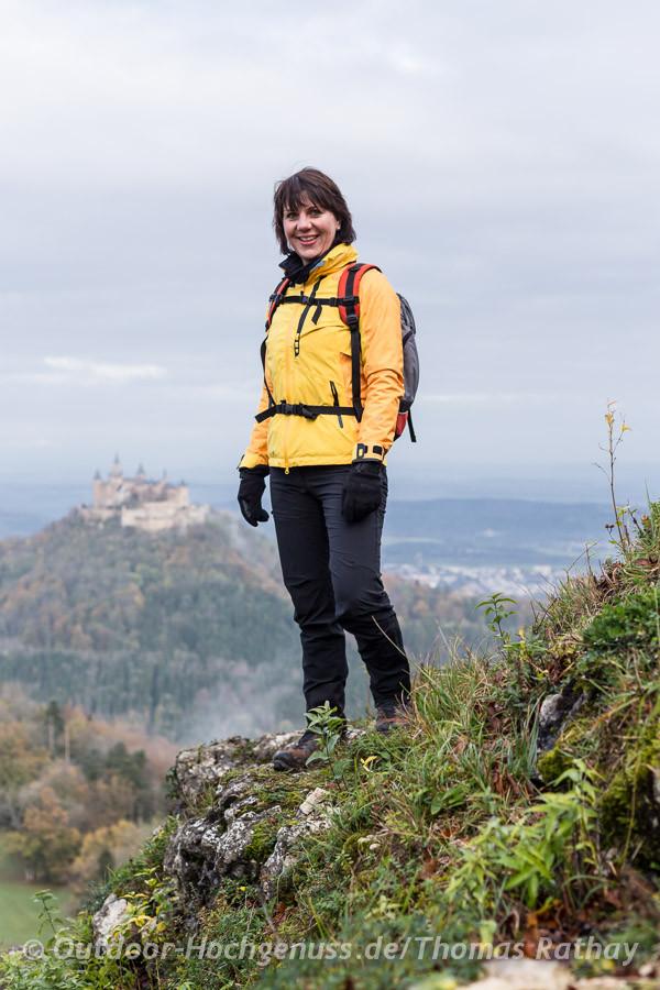 Wandern auf dem Zollernburg-Panorama-Traufgang