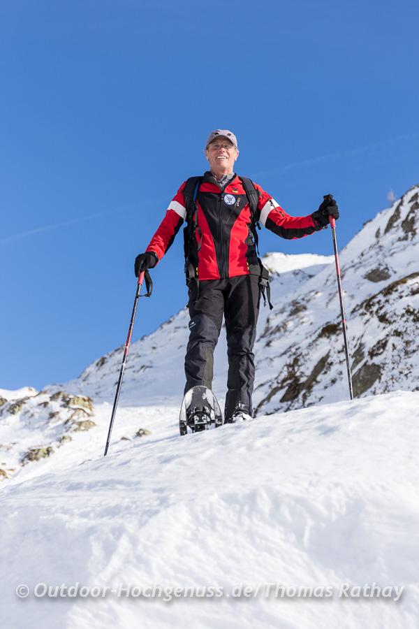 Schneeschuhtour am Timmelsjoch