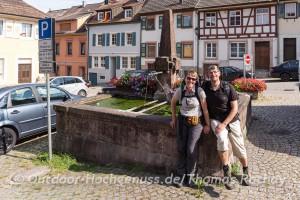 Etappenziel Gernsbach