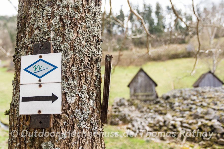 Wandern auf der Murgleiter