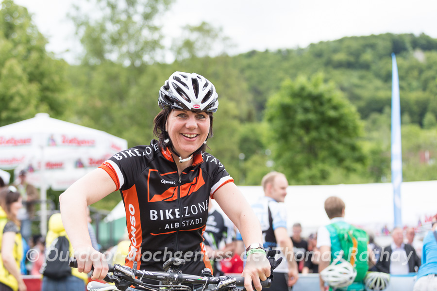 Ursula Teufel - Mountainbikerin mit Leidenschaft