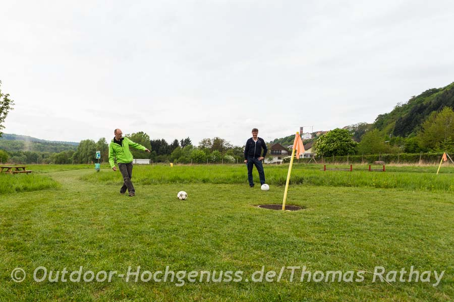 Fussballgolf in Beckingen