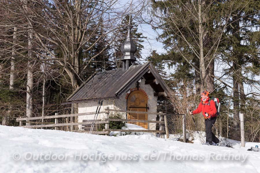 Kapelle am Wegesrand.