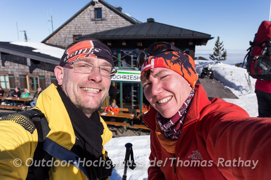 Schneeschuhtour Bayern
