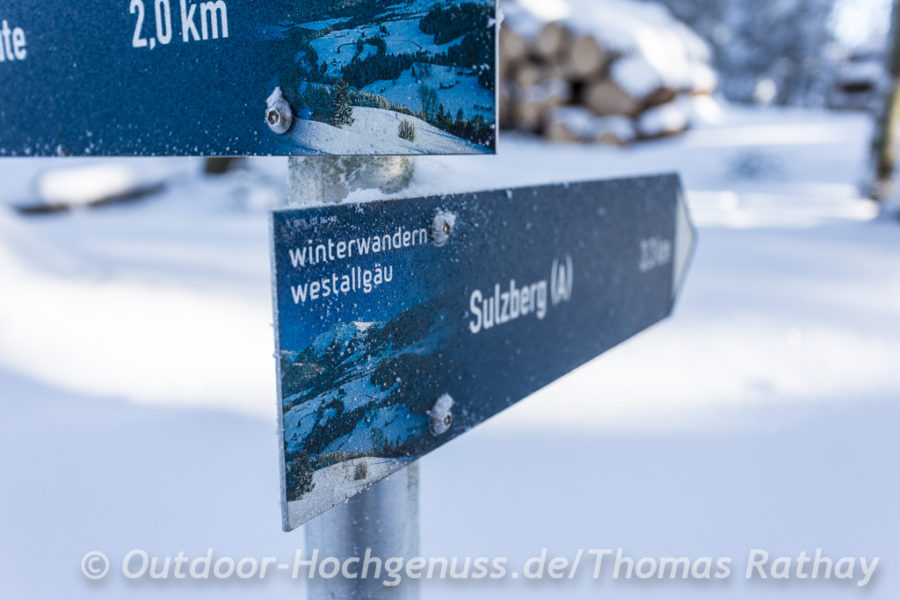 Winterwandern in Bayern und Vorarlberg
