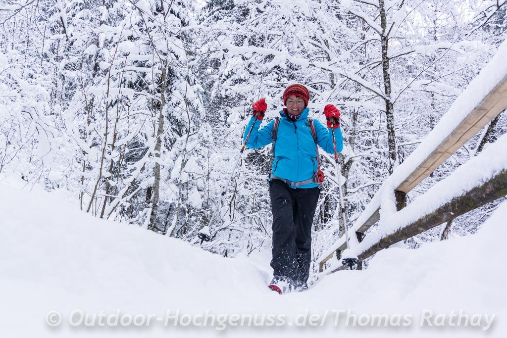 Schneeschuhtour Hausbachklamm