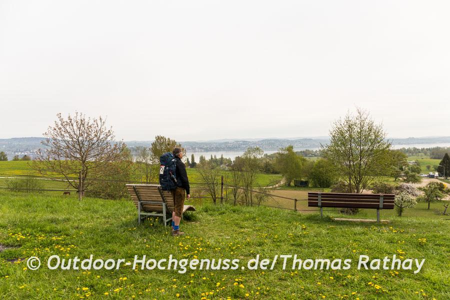 Wandern auf dem Seegang am Bodensee Tag 3