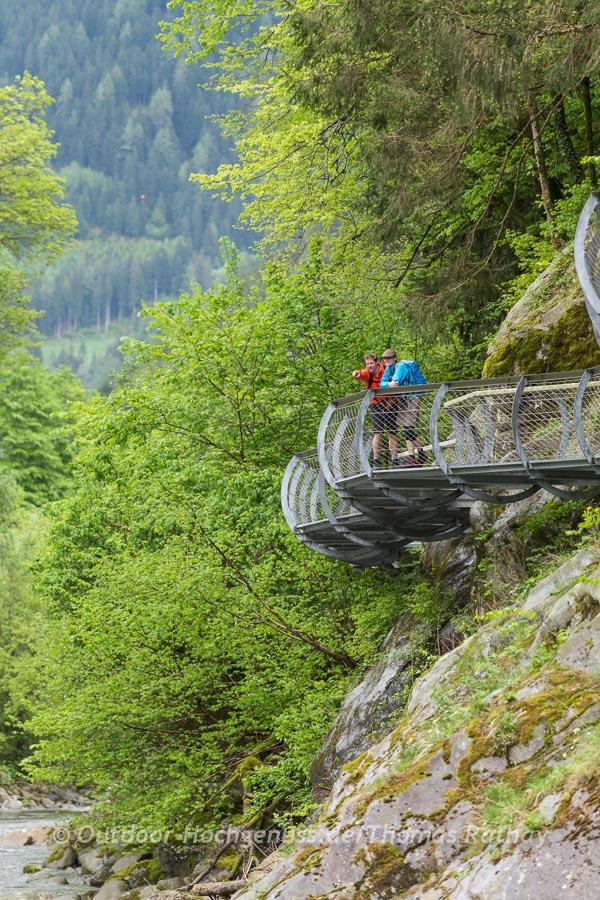 Fotowanderung auf dem Passerschlucht Wanderweg.