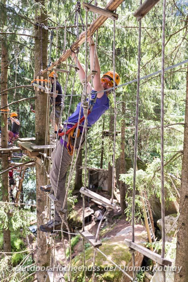 Jane im Dschungel der Seile