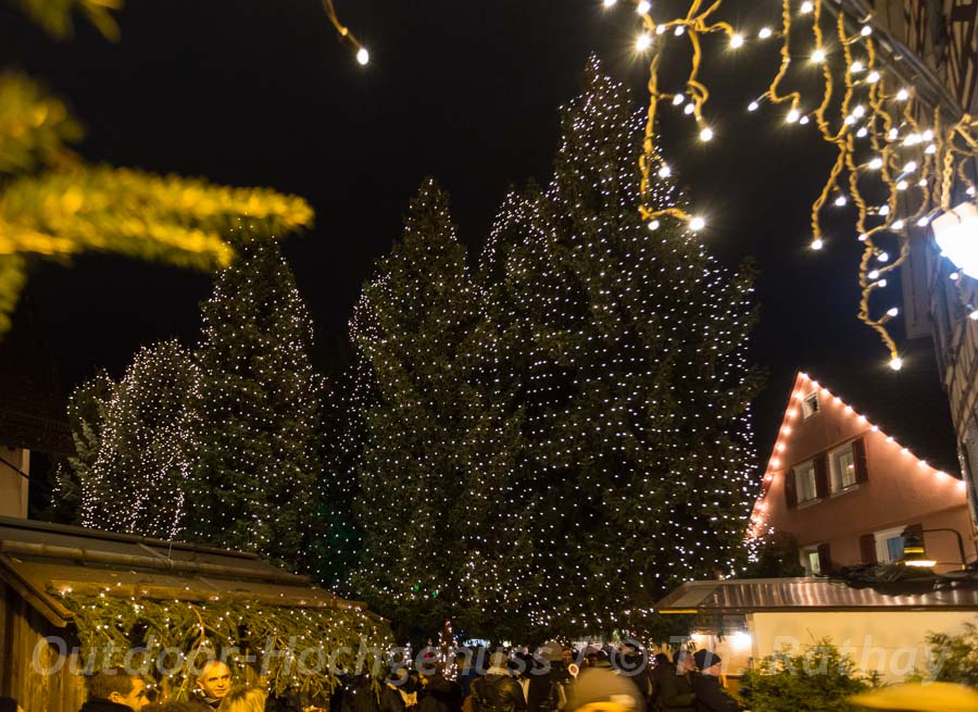 Weihnachtsmarktgenuss im Adventswald Rudersberg