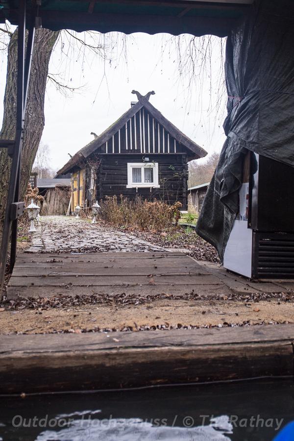Typisches Spreewaldhaus