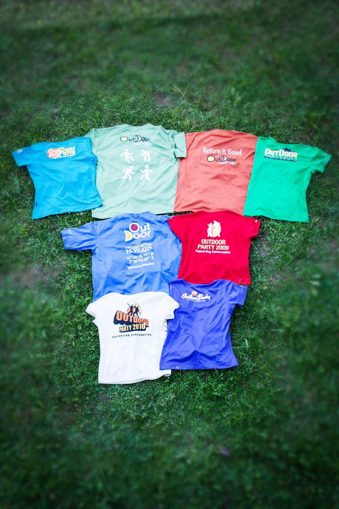 OUTDOOR-T-Shirt Kollektion