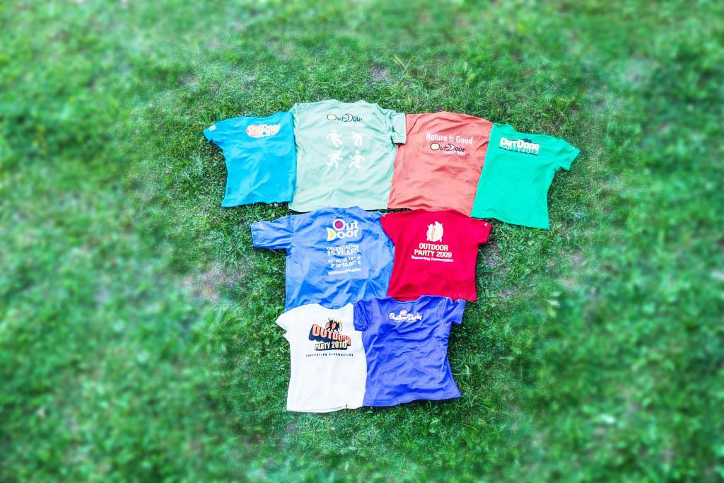 OUTDOOR-T-Shirt Kollektion