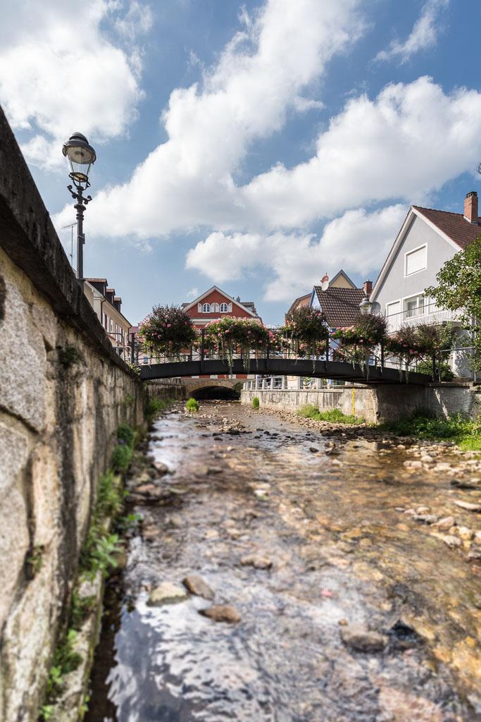 Das Wasser des Mühlenbachs