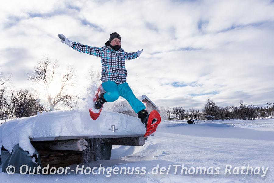 Schneeschuh Foto Tour