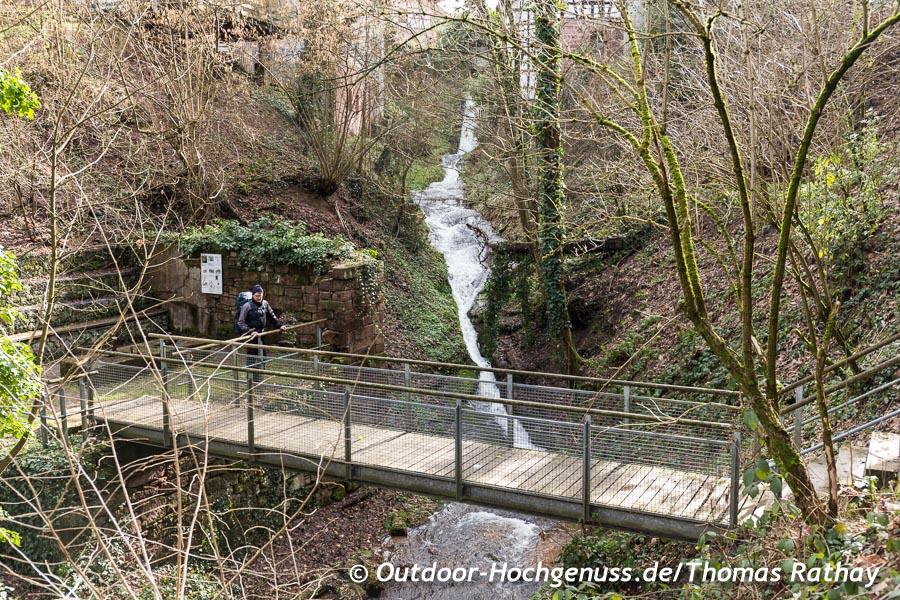 Wasserfall, Ölmühle, Schwarzwald