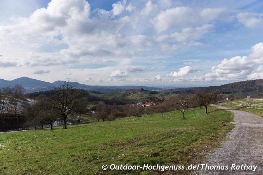 Aussicht nach Baden Baden, Merkur