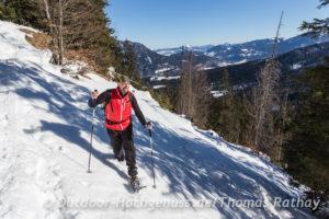 Schneeschuhtour rund um den Schmuckenstein