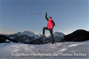 Berchtesgadener Land, Schneeschuhtour, Ramsau, Winter