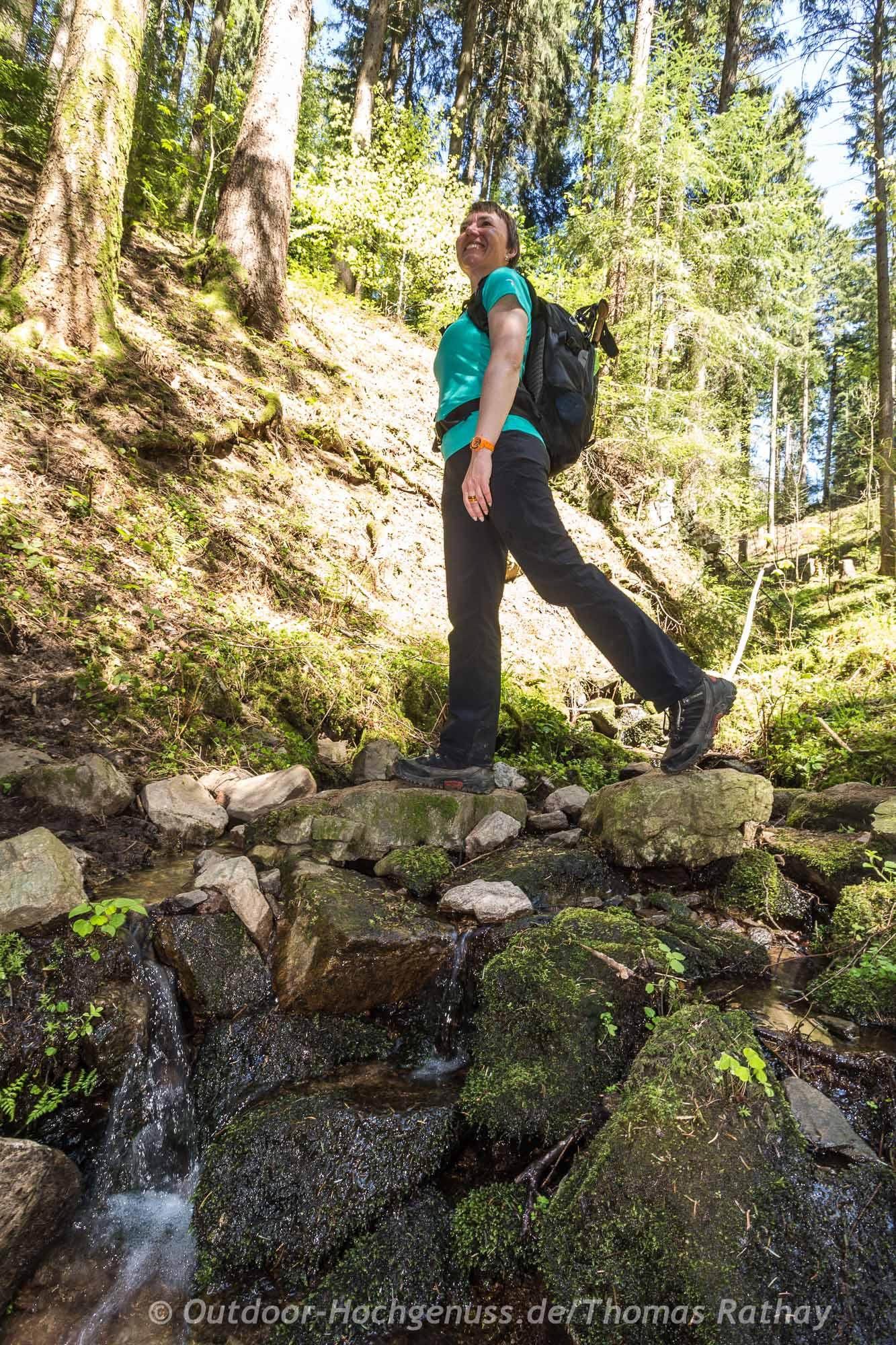 Wandern auf neuen Genießerpfaden im Schwarzwald, der Himmelssteig.