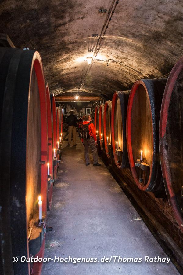 Besuch im Weingut am Geniesserpfad