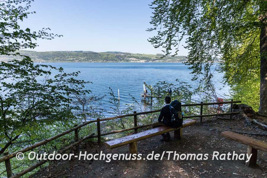 Wandern auf dem Seegang am Bodensee Tag 2