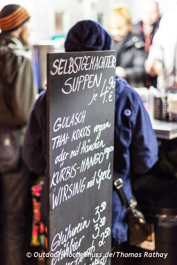 Wouahou - das alternative Weihnachtsdorf in Stuttgart
