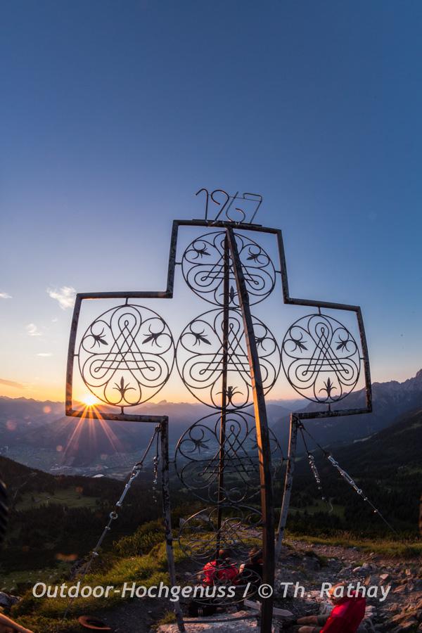 Gipfelkreuz Mondspitze