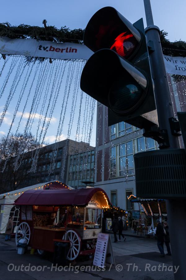 Eingang Weihnachtsmarkt am Schlossplatz