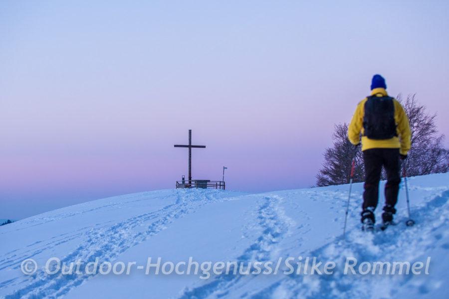 Gipfelkreuz der Martinshöhe