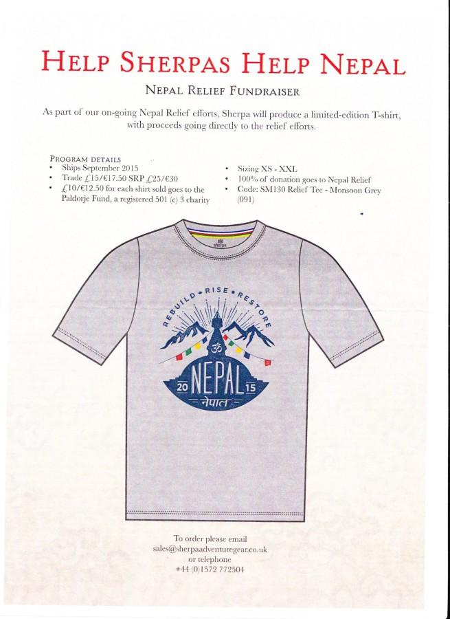 Sherpa Charity T-Shirt 001