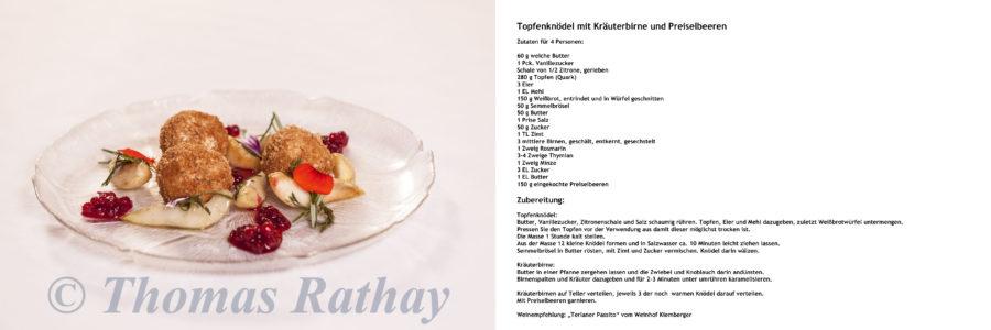 Südtiroler Rezept vom Jägerhof.