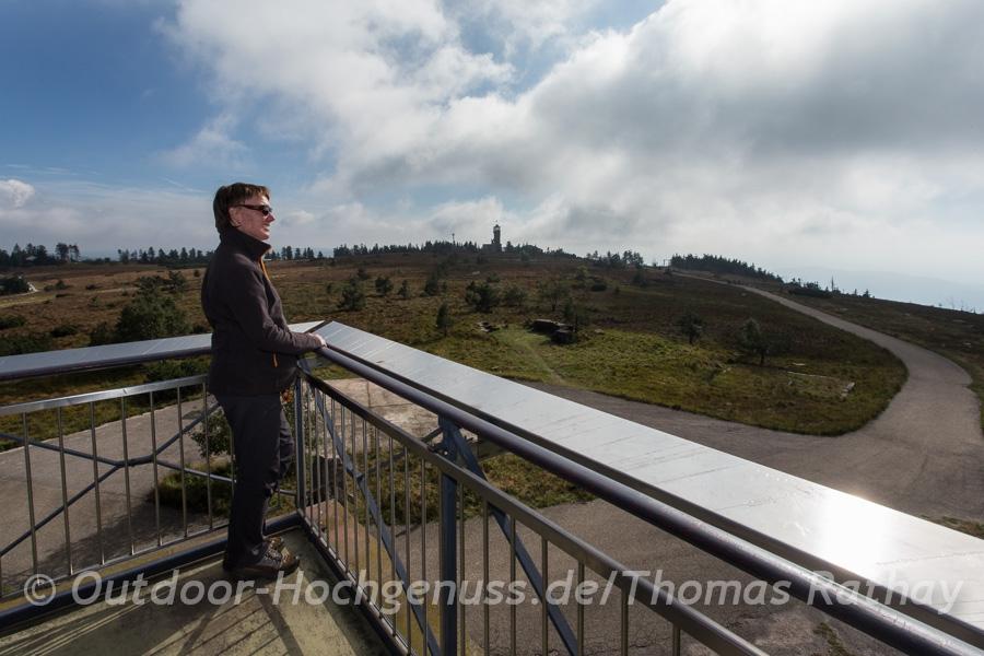 Wandern auf dem Schwarzwälder Genießerpfad Mummelsee-Hornisgrinde